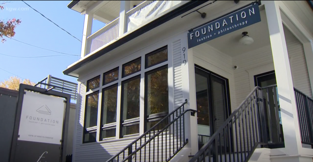 Portland fashion boutique Foundation gives back